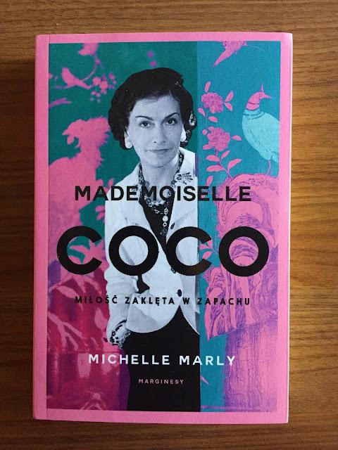 """Recenzje #160 - """"Mademoiselle Coco miłość zaklęta w zapachu"""" - okładka książki - Francuski przy kawie"""
