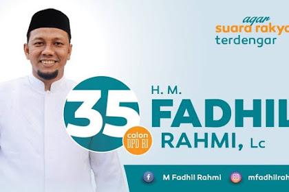 Haji Fadhil Rahmi: Teurimonggaseh Keu Mandum Rakan, Syedara dan Masyarakat