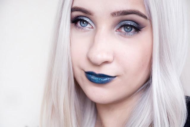макияж на хэллоуин для блондинки