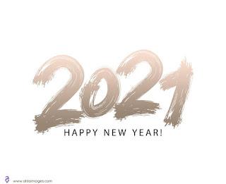 تهنئة بالعام الميلادي الجديد 2021