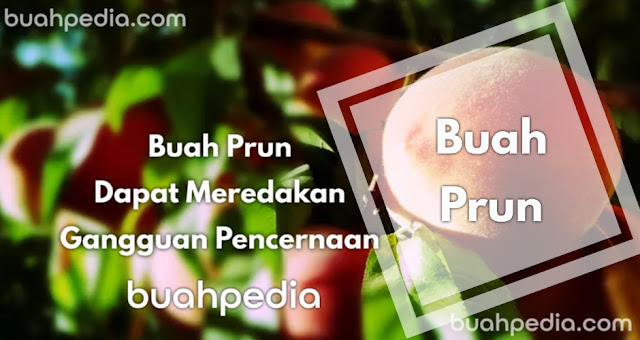 Prun fruit can relieve digestive disorders