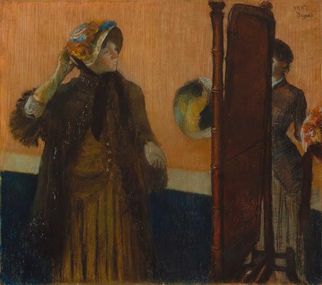 Эдгар Дега - У модистки (1882)