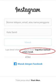 Cara Mengetahui Password Instagram Kita Sendiri Tanpa Aplikasi