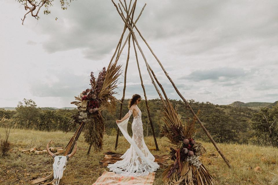 Q+A: LITTLE BOHEMIAN DREAM   BESPOKE BOHO WEDDING STYLING CAIRNS QLD