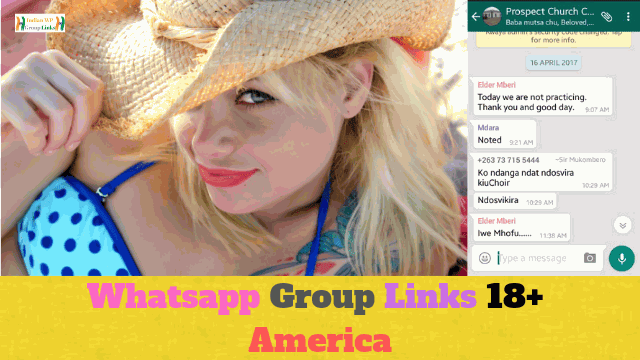 139+ Best Whatsapp Group Links 18+ America Collection