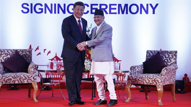 China getting safe passage to occupy Nepal territory with Oli support
