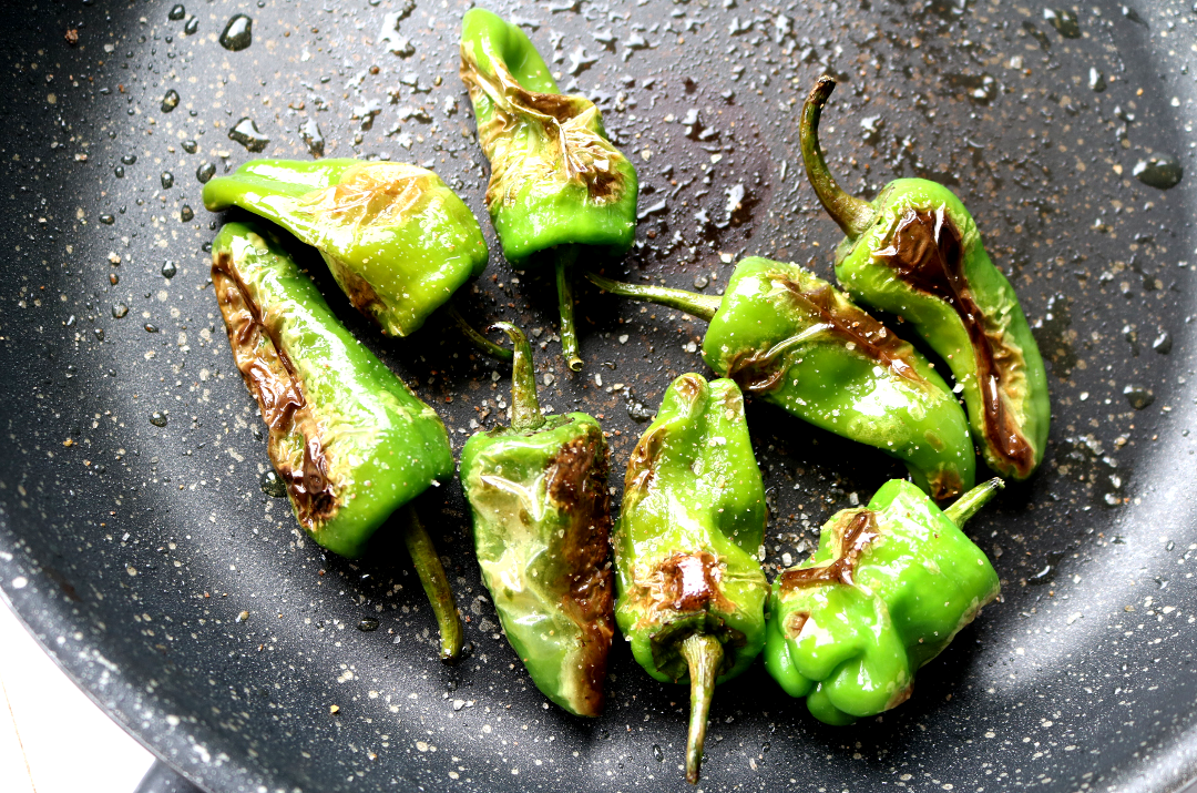Fried Padron Peppers aka Spanish Tapas Roulette