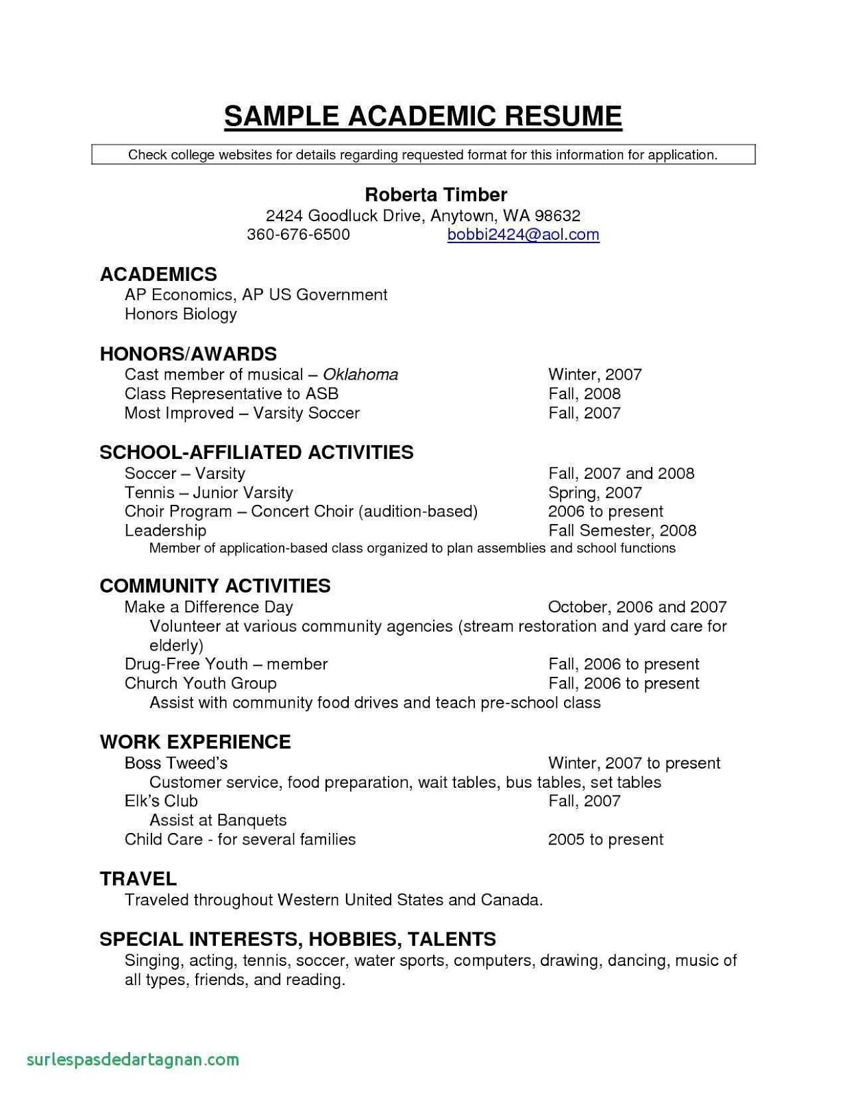 Basic Resume Format 2019 Basic Resume Format Examples 2020