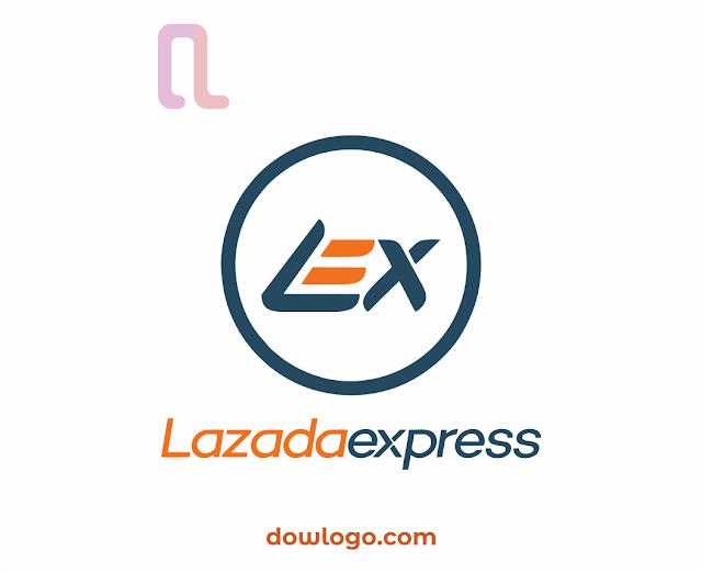 Logo Lazada Express Vector Format CDR, PNG