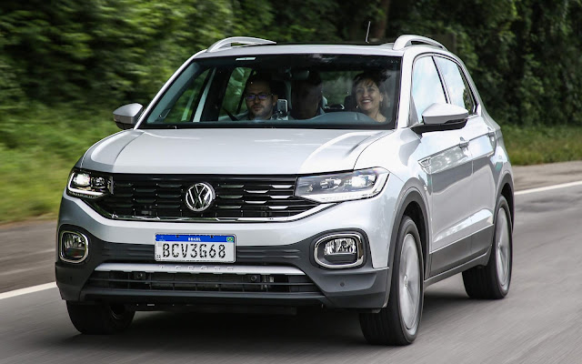 VW T-Cross dispara e é o 3º carro mais vendido do Brasil