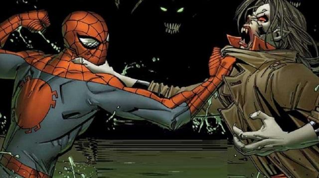 Homem-Aranha e Morbius/Marvel/Reprodução