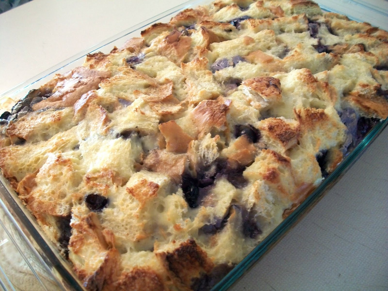 My Kind Of Cooking Blueberry Strata