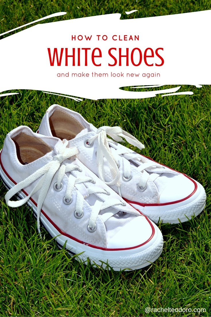 4 Tricks to Keep White Sneakers