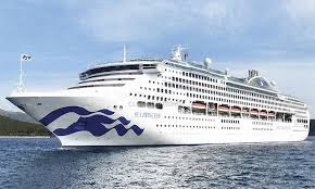 Princess Cruises Sea Princess Makes A One Time Call in New York as part of  her 2019 World Cruise.