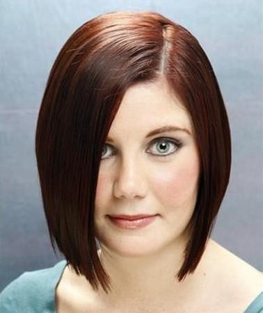 model rambut pendek untuk wanita gemuk