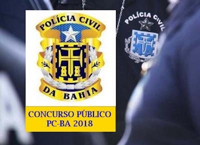 apostila Escrivão de polícia PC-BA 2018