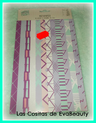 papeles decorados scrapbooking y manualidades tedi