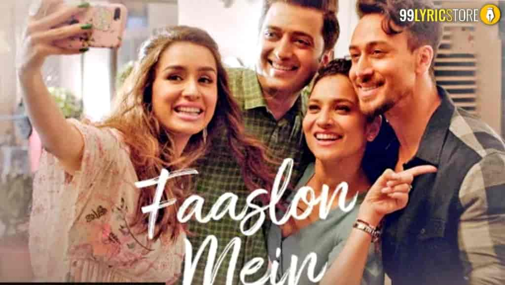Faaslon Mein Song Images From Movie Baaghi 3