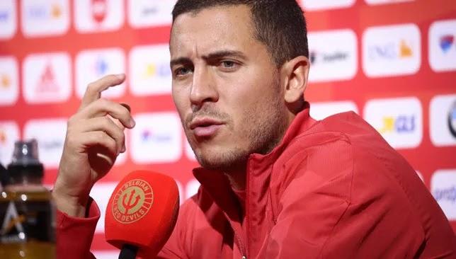 Eden Hazard ranks Karim Benzema as the best striker in the world