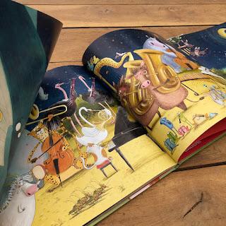 """""""Eine wilde Symphonie"""" von Dan Brown, illustriert von Susan Batori, Boje Verlag"""