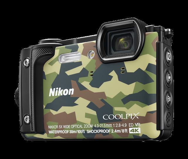 Nikon Coolpix W300, камуфляжный