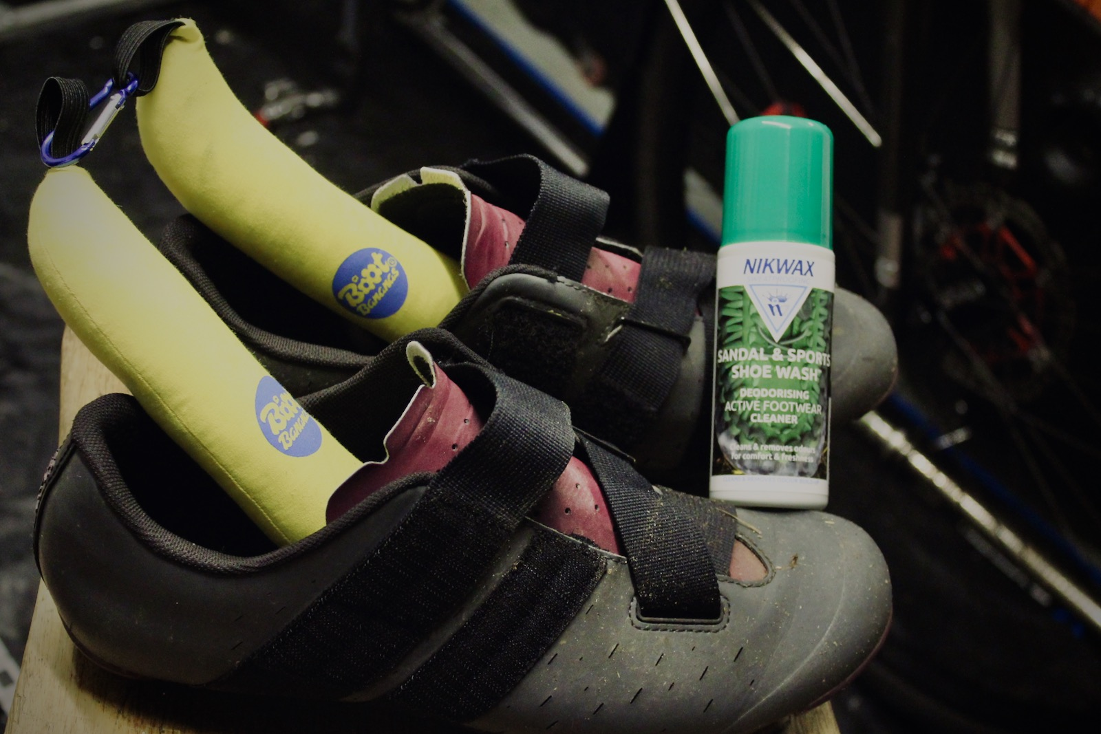 Smelly Cycling Shoes