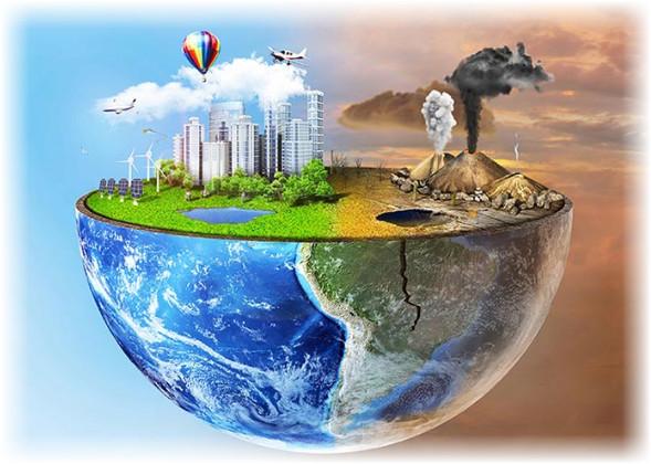 موضوع تعبير عن التلوث شامل