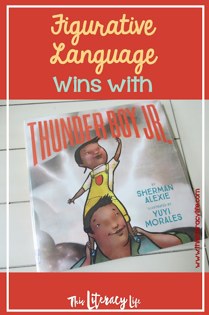 It's all in a name with Figurative Language and Thunder Boy, Jr. It's easy to help your students see how figurative language works in everyday life with this fun book.