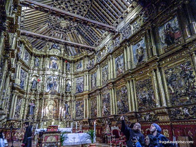 Altar dourado da Igreja de San Francisco, Bogotá