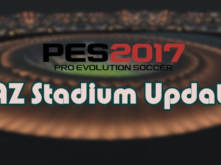 PES 2017 AZ Stadium Pack Update Season 2021