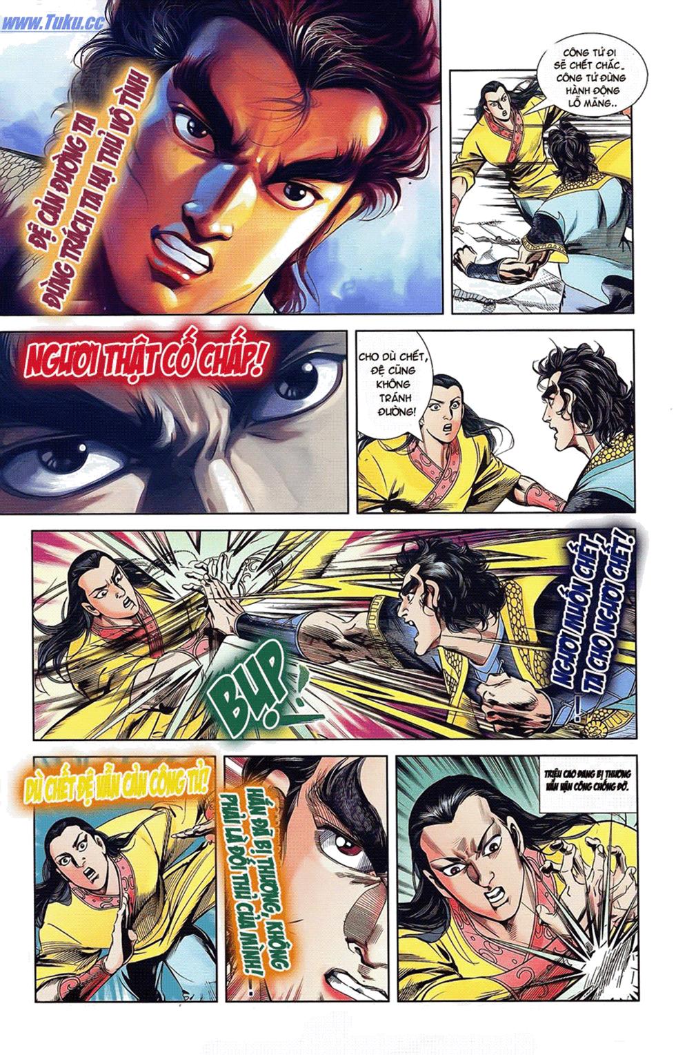 Tần Vương Doanh Chính chapter 18 trang 17