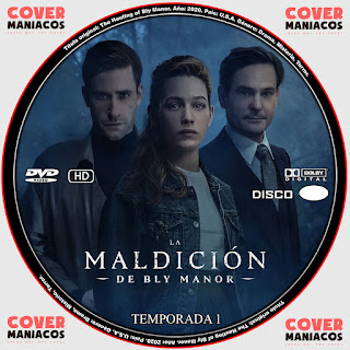 GALLETA LA MALDICION DE BLY MANOR - THE HAUNTING OF BLY MANOR [COVER DVD]