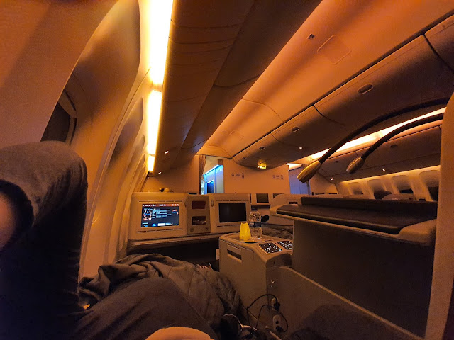 turkish airline TK55 business class