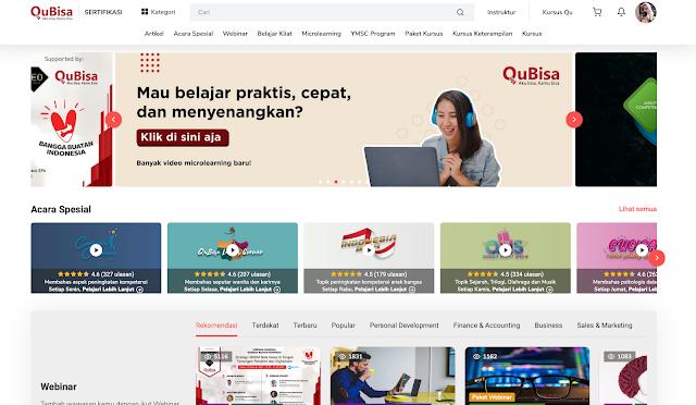 webinar gratis pengembangan karir