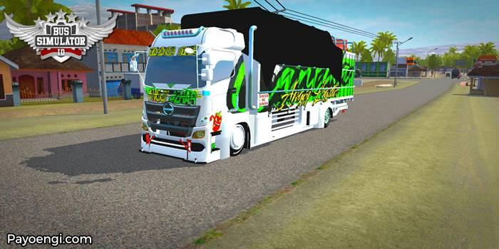 mod bussid truck hino 500 c2 full anim
