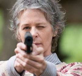 Melissa McBride - Outubro volta The Walking Dead 2016