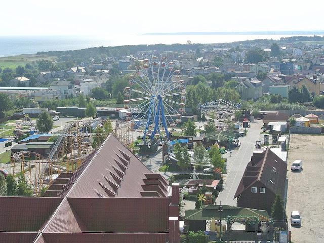 plac zabaw Władysławowo, wesołe miasteczko
