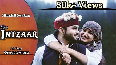 Tera Intzaar mp3 Song download   Ranjeet Bhardwaj ~ Gaana Himachali