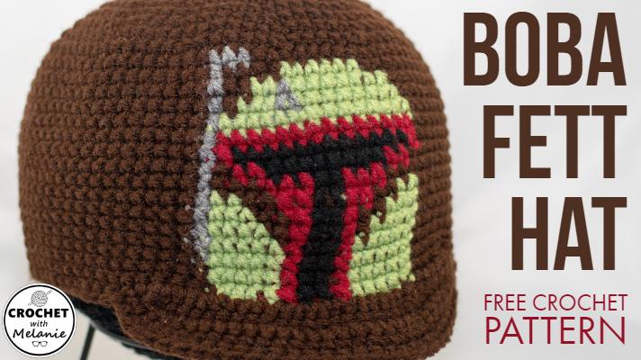 Boba Fett Beanie With Bill Free Crochet Pattern