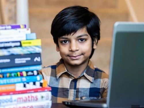 Kautelia Kataria ... the world's youngest AI programmer
