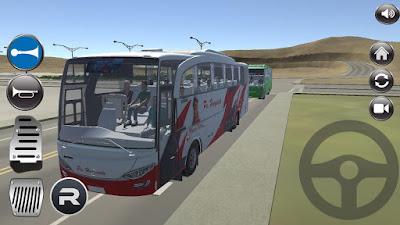 permainan ini ialah permainan simulator bus  IDBS Bus SImulator v1.4 (Bus Telolet 3D) APK