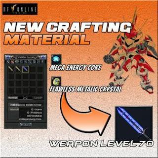 Membuat Armor dan Senjata RF Online Remastered