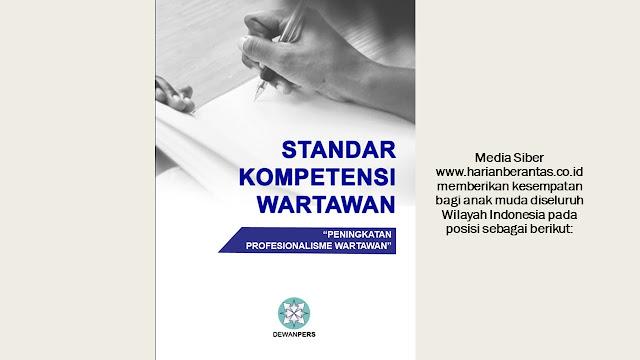 Dibutuhkan Jurnalis/Biro untuk Daerah Khususnya Pekanbaru, Batam dan Sumatera Utara.