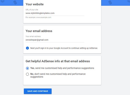 how to add site url in google adsense, how to connect website with google adsense, link to blogger with adsense, website ko adsense se link kaise kare