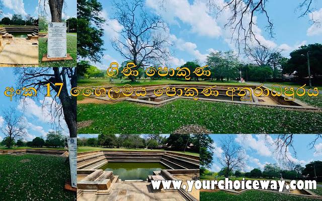 ගිණි පොකුණ - අංක 17 ශෛලමය පොකුණ අනුරාධපුරය 🌿🌱🍃 (Gini Pokuna - 17) - Your Choice Way