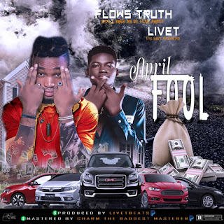 Download, mp3, song, music, songs, download mp3,Flows Truth comes through with this dope banger in the spirit of 'April Fool featuring Livet'.   This track is a warning that we all are not in the mood for any April Fool's related prank.   As we all know every 1st April to be world prank day   Kindly download and enjoy this song below, its dope!