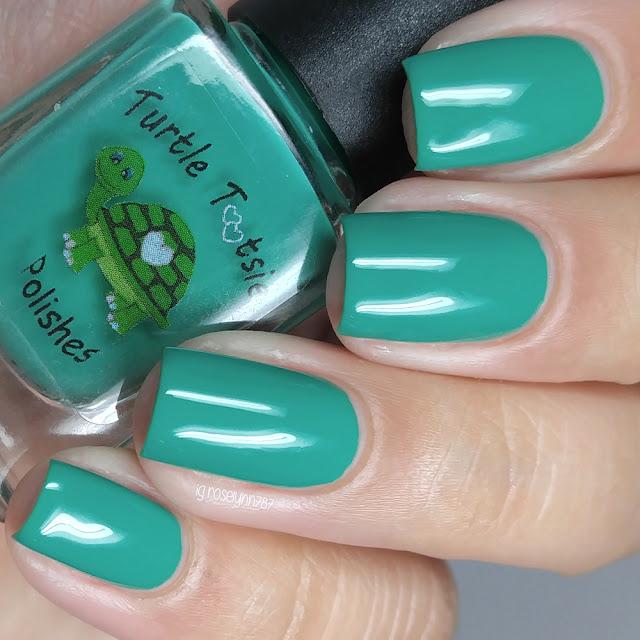 Turtle Tootsie Polishes - Green Ranger