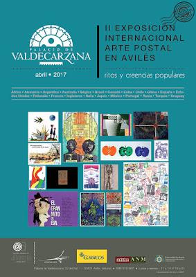 exposición, cartel, arte postal, mail art, Avilés