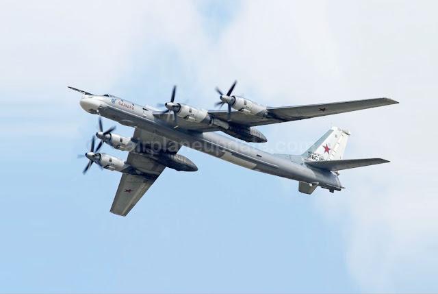 Tupolev Tu-95MS Bear-H Bombers