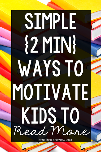Ever wondered how you can motivate your kids to love reading? There are simple ways you can do this (without spending hours each day picking out books and reading to them). Click to see some ideas you can use everyday